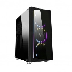 CASE GAMING OPTOIX ITGCAO45 - NO ALIMENTATORE - NERO